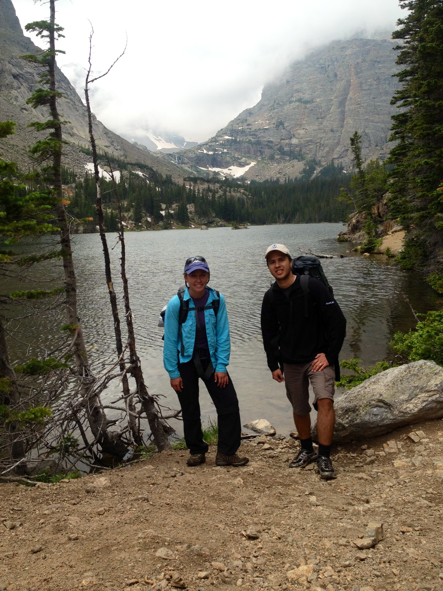 Ashley and Andre RMNP Fieldwork